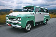 Chevrolet Amazona: Versão nacional da Suburban, ela seria substituída pela Veraneio
