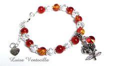 Armband Rose von Luisa Ventocilla Shop auf DaWanda.com
