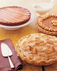 Use this crust to make our Chai-Spice Apple Pie, Lavender-Grape Tart, and Caramel-Walnut Pie. Pate Brisee Martha Stewart, Thanksgiving Recipes, Holiday Recipes, Dessert Tray, Spiced Apples, Bread And Pastries, Just Desserts, Apple Pie, Food Processor Recipes