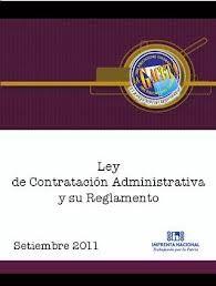 Ley de Contratación administrativa y su reforma