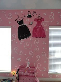 Paris Mural for Girls Room   View this great french girls room.....Little girls french theme murals ...