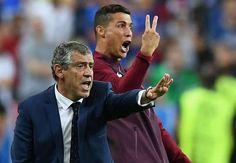 ポルトガル代表FWのクリスティアーノ・ロナウドが監督に転身? ユーロ決勝での振る舞いが話題をよんでいる。