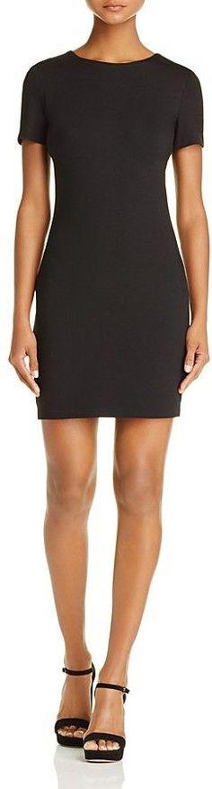 Aqua Short Sleeve Body-Con Dress - 100% Exclusive