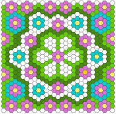 Hexagon Quilt Layout | Craftsy