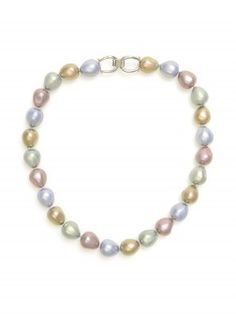 Classically Stranded Pearl Necklace
