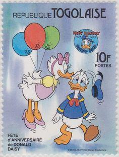 Fiesta de Aniversario, Donald y Daisy Fiesta de Aniversario 21/09/1984 Togo