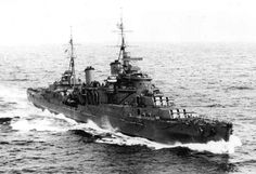 the royal Navy cruiser HMS Manchester was hit by a torpedo while escorting a convoy to Malta on 23rd July 1941.
