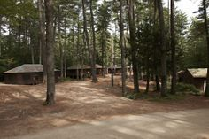 Our summer home at Camp Walden...the Grove.