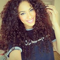 Her hair:)