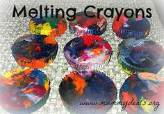 Got a bunch of broken crayons? Before you pitch them try this!