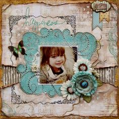 Such a Pretty Mess: Framing with Bling {Bo Bunny Design Team}