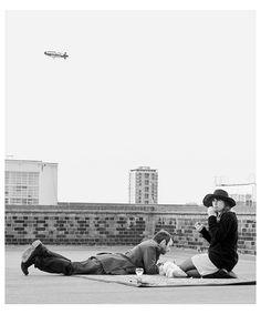 Bermondsey rooftop.   Flickr - Photo Sharing!