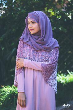 Ruhee Collection Pink Cape Abaya with Velvet Brocade   My Online Souk   www.myonlinesouk.co.za Modest Dresses, Eid, Cape, Velvet, Clothes, Collection, Design, Fashion, Mantle
