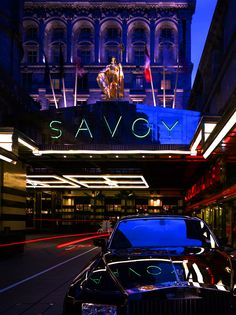 The Savoy. Must stay here at some point