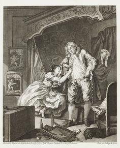 William Hogarth (1697-1764), After, 1736.