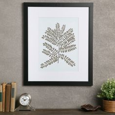 Birch Lane Fern Framed Print II