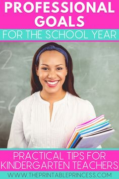 Grow as an educator and narrow your focus on the areas you want to improve on next school year, such as classroom organization, classroom management, relationship building, and instruction, with these goal setting ideas for teachers.