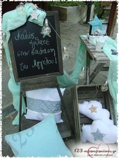 Little Star, Christening, Art Quotes, Bloom, Chalkboard, Stars, Kos, Deco, Canvases