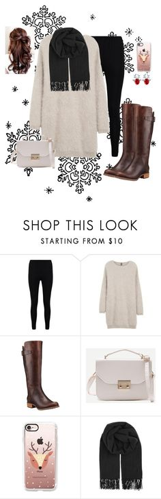"""""""Christmas Eve"""" by catty-glitter-girl on Polyvore featuring Boohoo, Eleventy, Timberland, Casetify and BeckSöndergaard"""