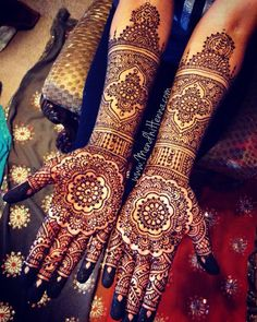 bridal mehndi designs (41)