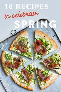 Radishes, asparagus, rhubarb, purple sprouting broccoli — get a taste of spring without leaving home! Celebrate the season by way of its veggies with some of our favorite spring recipes. Healthy Dinner Recipes, Gourmet Recipes, Appetizer Recipes, Whole Food Recipes, Vegetarian Recipes, Cooking Recipes, My Favorite Food, Favorite Recipes, Bobby
