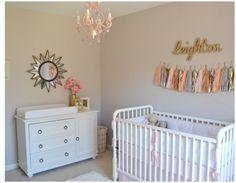 Relaxed yet stylish: Shabby chic nursery decor | #BabyCenterBlog #ProjectNursery