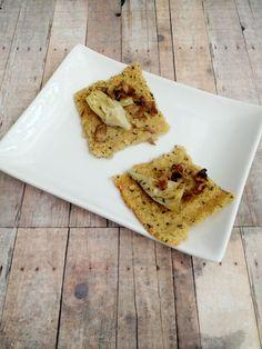 Vegan, Gluten-Free Quinoa Pizza Crust Recipe