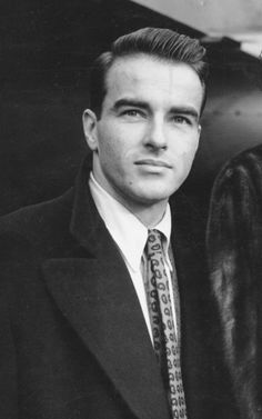 """In MEMORY of MONTGOMERY CLIFT on his BIRTHDAY - Born Edward Montgomery Clift, American actor. A four-time Academy Award nominee, The New York Times said he was known for his portrayal of """"moody, sensitive young men"""". Oct 17, 1920 - Jul 23, 1966 (heart attack)"""