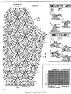 Maravilhas do Crochê: Casaquinho de Crochê Manga Longa_Japonês