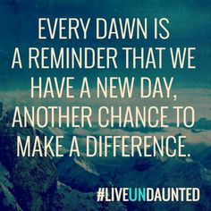 Make a difference...