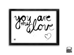 Plakat You are my love