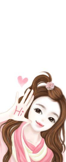 Cartoon Pics, Girl Cartoon, Cute Cartoon, Lovely Girl Image, Cute Girl Pic, Korean Art, Asian Art, Korean Illustration, Cute Girl Wallpaper