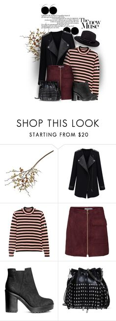 """""""Start falling"""" by ladrianag ❤ liked on Polyvore featuring Crate and Barrel, Shrimps, H&M, STELLA McCARTNEY, Karl Lagerfeld and Fall"""