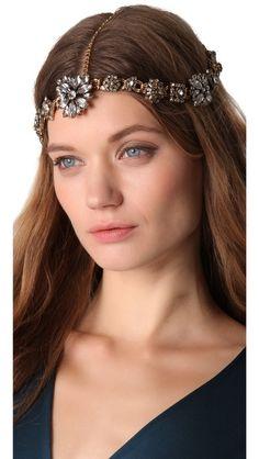 Erickson Beamon Ice Age Headpiece Turbans, Summer Hairstyles, Wedding Hairstyles, Portraits, Headbands For Women, Women's Headbands, Hair Ornaments, Vintage Bridal, Queen
