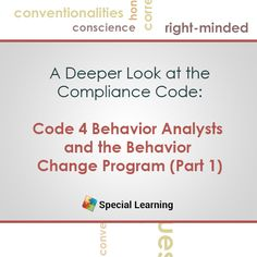 We are proud to introduce our next installment of our ethics series focusing on delving into scenarios and discussion of the new Professional and Ethical Compliance Code for Behavior Analysts.  #ethicslivewebinar #withDr.Bailey