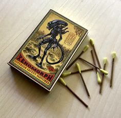 Xenomorph Matches available in the ChetArt shop.