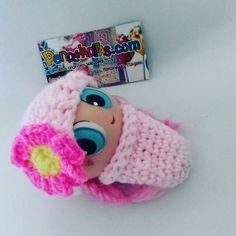 Pequeño Cocoons en crochet para tu pequeño Ksi merito Juego de 2 piezas