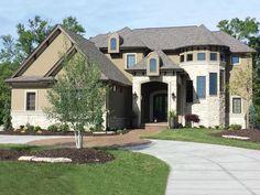 050H-0212: European Luxury House Plan; 3549 sf