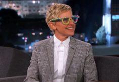 Ellen DeGeneres on Jimmy Kimmel Live PART 1