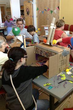 Year of Innovation Public Programs: Global Cardboard Challenge