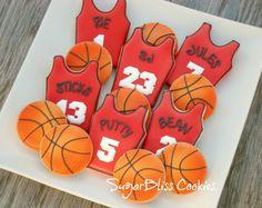 SugarBliss Cookies: SugarBliss Basketball