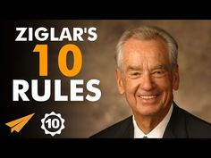 Zig Ziglar's Top 10 Rules For Success Positive Business Quotes, Positive Quotes, Personal Development Courses, Team Building Quotes, Believe Quotes, Motivational Posters, Motivational Videos, Wisdom Quotes, Quotes Quotes