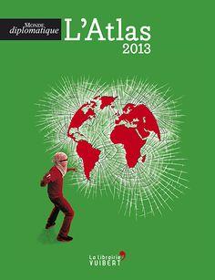 Boris Séméniako - Illustration de couverture de l'atlas 2013 du Monde diplomatique, éditions Vuibert