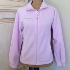 Pink Fleece Columbia Jacket Selling my pink fleece Columbia jacket. It is in excellent condition and is very clean. There are no tears or stains. Columbia Jackets & Coats
