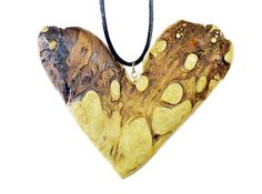 Wood Necklace Sculpture Art and Collectible by JoshCarteArt