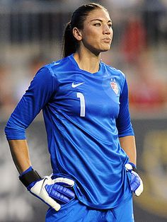 Hope Solo, keeper of the women's soccer team USA, Olympic champions Hope Solo, Olympic Football, Football Soccer, Solo Soccer, Soccer Goalie, Soccer Usa, Nike Soccer, Soccer Cleats, Soccer Girls