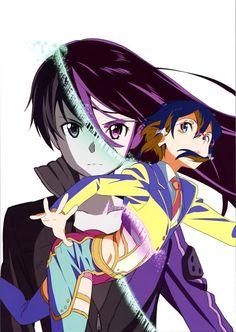 Sinon/Asuda and Kirito/Kazuto