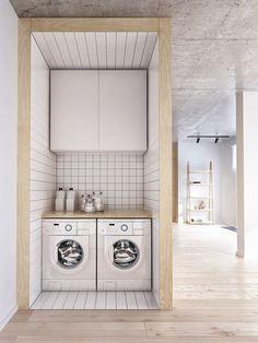 Amazing Scandinavian Laundry Room Design Ideas For Your Apartment – Laundry Room Modern Laundry Rooms, Laundry Room Signs, Laundry Room Organization, Decorating Small Spaces, Cheap Home Decor, Interior Design Living Room, Designer, Room Decor, Room Ideas