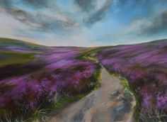 Buy Moorland Landscape Original Acrylic Painting, Acrylic painting by Veronique Oodian on Artfinder. Discover thousands of other original paintings, prints, sculptures and photography from independent artists.