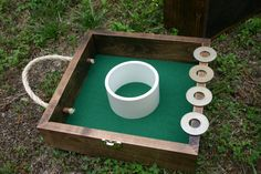 Washer Toss - Building one this week :)